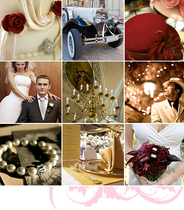 1920s gangster theme weddings