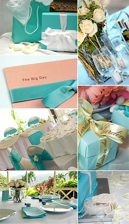 How to Plan Your Own Aqua Blue Wedding